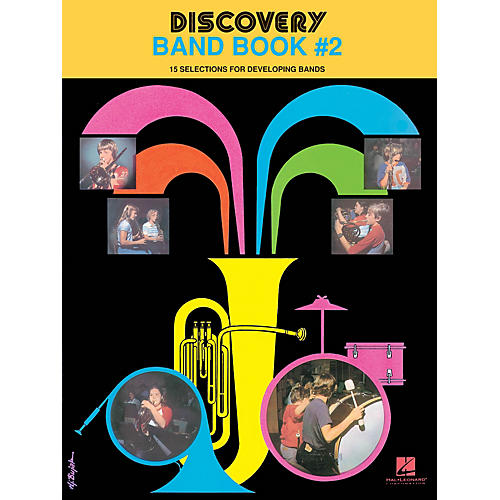 Hal Leonard Discovery Band Book #2 (B Flat Tenor Saxophone) Concert Band Level 1 Composed by Anne McGinty-thumbnail