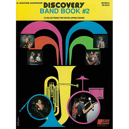 Hal Leonard Discovery Band Book #2 (E Flat Baritone Saxophon) Concert Band Level 1 Composed by Anne McGinty-thumbnail