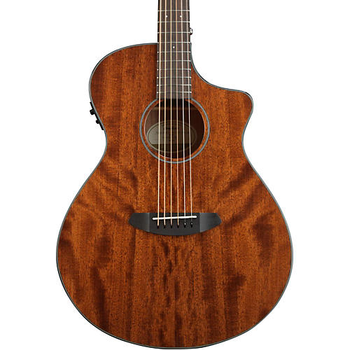 Breedlove Discovery Concert CE 6-String Mahogany Acoustic Electric Guitar Natural