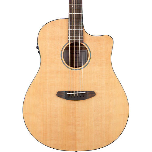 Breedlove Discovery Dreanought Cutaway Acoustic-Electric Guitar Natural