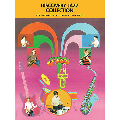 Hal Leonard Discovery Jazz Collection - Alto Sax 1 Jazz Band Level 1-2 Composed by Various-thumbnail