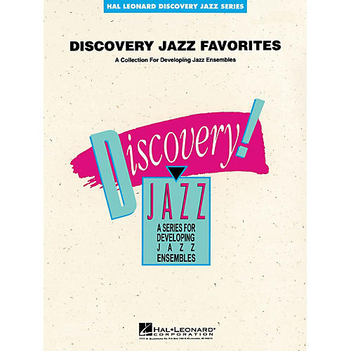 Hal Leonard Discovery Jazz Favorites - CD Jazz Band Level 1-2 Composed by Various-thumbnail