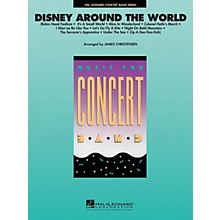 Hal Leonard Disney Around the World Concert Band Level 4 Arranged by James Christensen