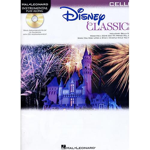 Hal Leonard Disney Classics Instrumental Play Along (Book/CD) Cello
