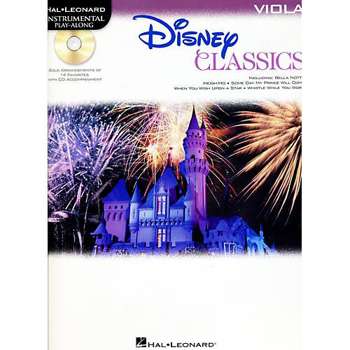 Hal Leonard Disney Classics Instrumental Play Along (Book/CD) Viola
