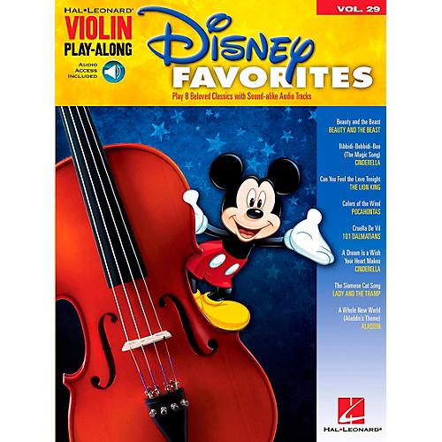 Hal Leonard Disney Favorites - Violin Play-Along Volume 29 Book/CD