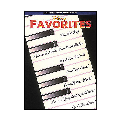 Hal Leonard Disney Favorites Beginning Piano Solos Late Elementary-thumbnail