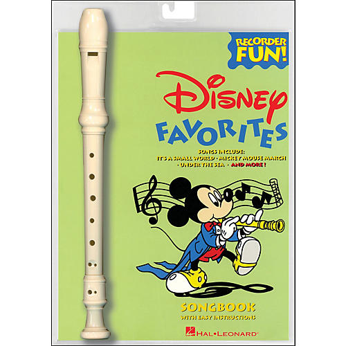 Hal Leonard Disney Favorites Recorder Fun! Pack