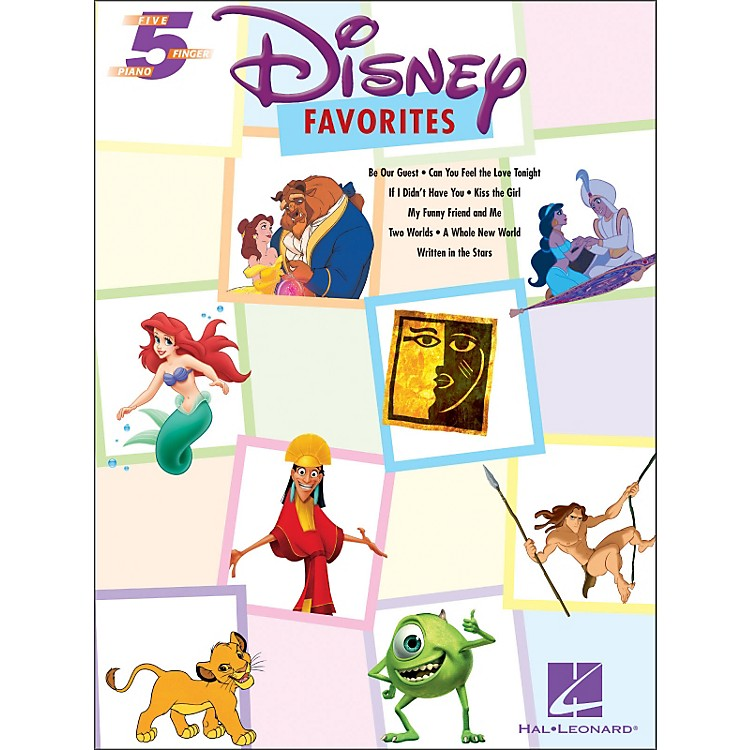 Hal Leonard Disney Favorites for Five Finger Piano