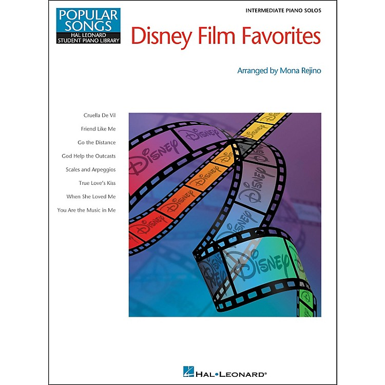Hal LeonardDisney Film Favorites Intermediate Piano Hal Leonard Student Piano Library Pop Songs Series by Mona Rejino