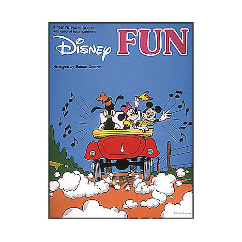 Hal Leonard Disney Fun for Five Finger Piano with Optional Accompaniment-thumbnail