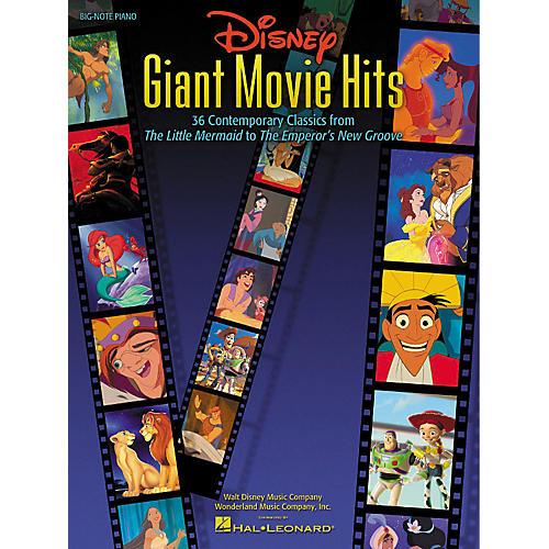 Hal Leonard Disney Giant Movie Hits