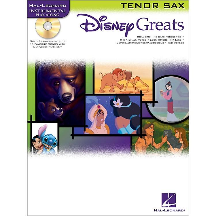 Hal LeonardDisney Greats for Tenor Sax Book/CD Instrumental Play-Along