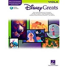Hal Leonard Disney Greats for Viola Book/CD Instrumental Play-Along