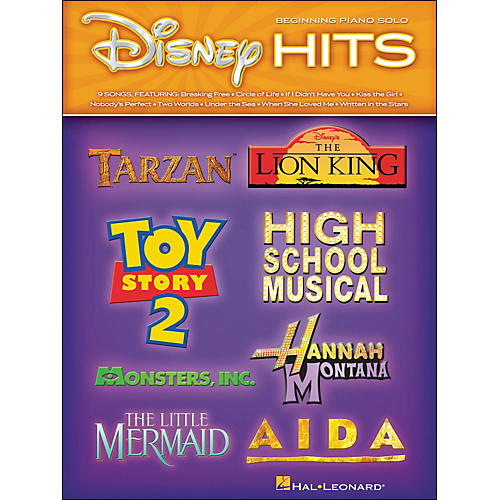 Hal Leonard Disney Hits - Beginning Piano Solo