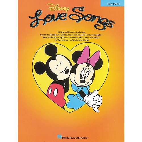 Hal Leonard Disney Love Songs For Easy Piano