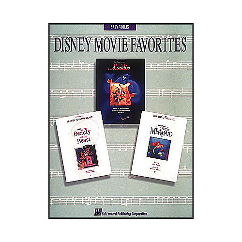 Hal Leonard Disney Movie Favorites for Easy Violin