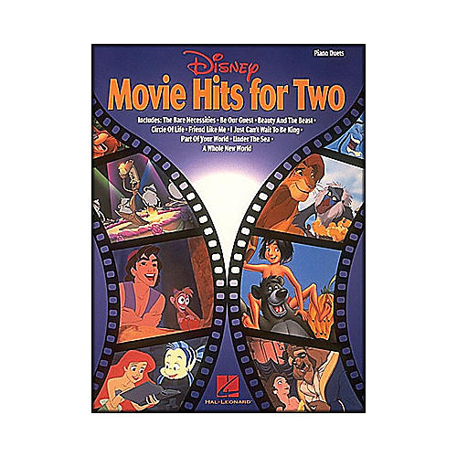 Hal Leonard Disney Movie Hits 4 Two
