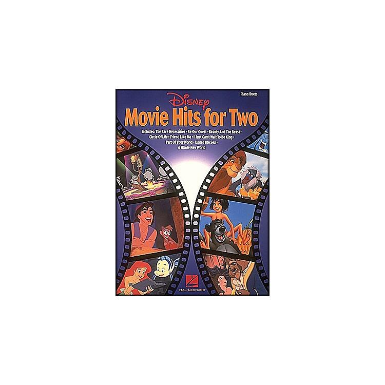 Hal LeonardDisney Movie Hits 4 Two