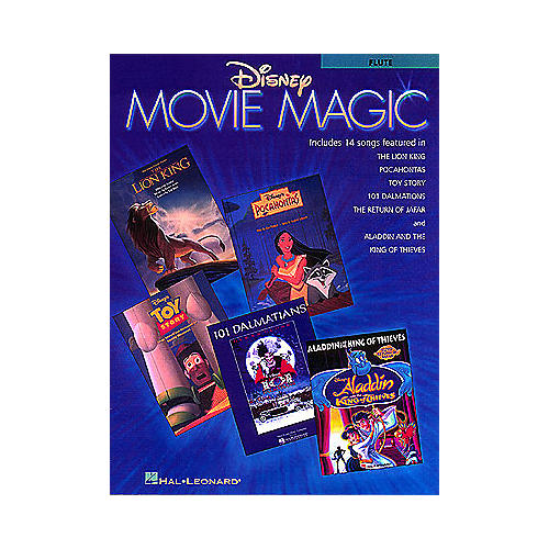 Hal Leonard Disney Movie Magic (Trombone Instrumental Solos) Instrumental Folio Series-thumbnail
