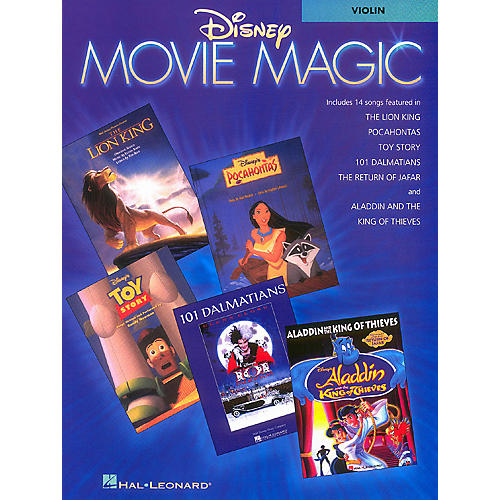 Hal Leonard Disney Movie Magic (Viola Instrumental Solos) Instrumental Folio Series-thumbnail