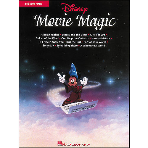 Hal Leonard Disney Movie Magic for Big Note Piano