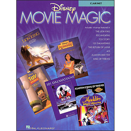 Hal Leonard Disney Movie Magic for Clarinet