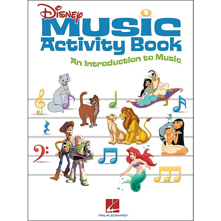 Hal Leonard Disney Music Activity Book