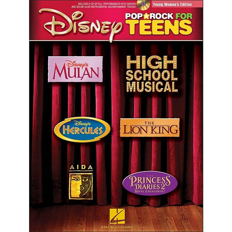 Hal LeonardDisney Pop/Rock for Teens - Young Women's Edition Book/CD