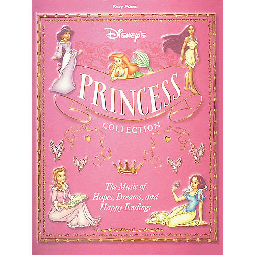 Hal Leonard Disney Princess Collection For Easy Piano-thumbnail