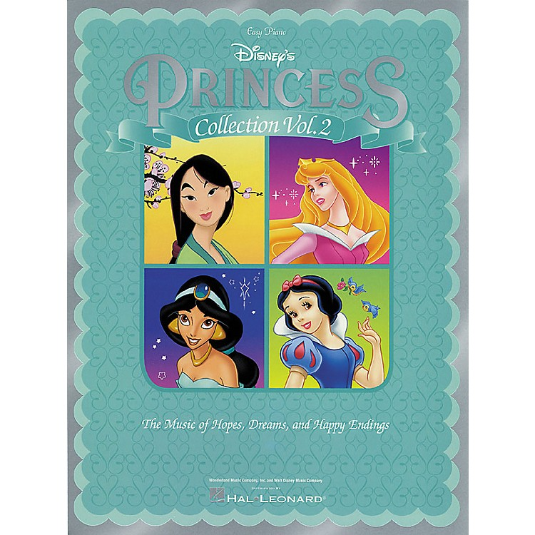 Hal Leonard Disney Princess Collection Vol 2 For Easy Piano