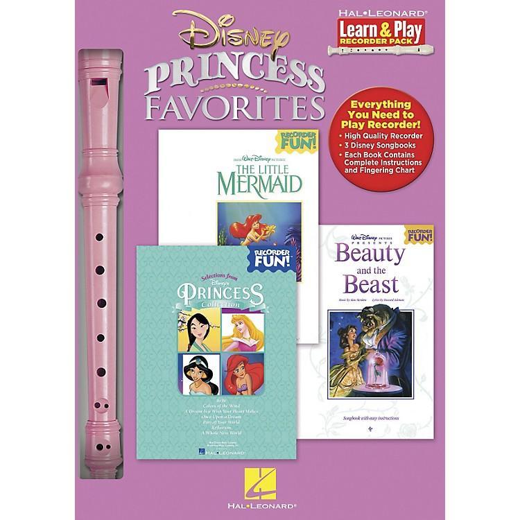 Hal LeonardDisney Princess Favorites Learn & Play 3-Book & Recorder Pack