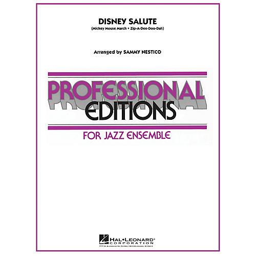Hal Leonard Disney Salute Jazz Band Level 5 Arranged by Sammy Nestico-thumbnail