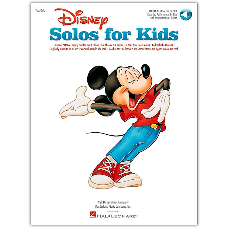 Hal Leonard Disney Solos for Kids Book/CD