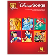 Hal Leonard Disney Songs - Beginning Solo Guitar - 15 Songs Arranged for Beginning Chord Melody Style in Standard Notation and Tablature