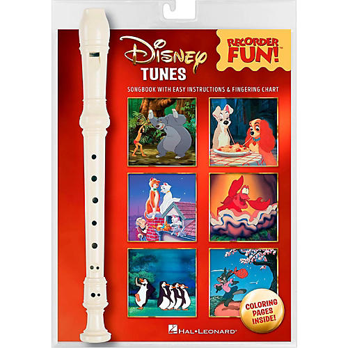 Hal Leonard Disney Tunes - Recorder Fun! Pack (With Instrument)