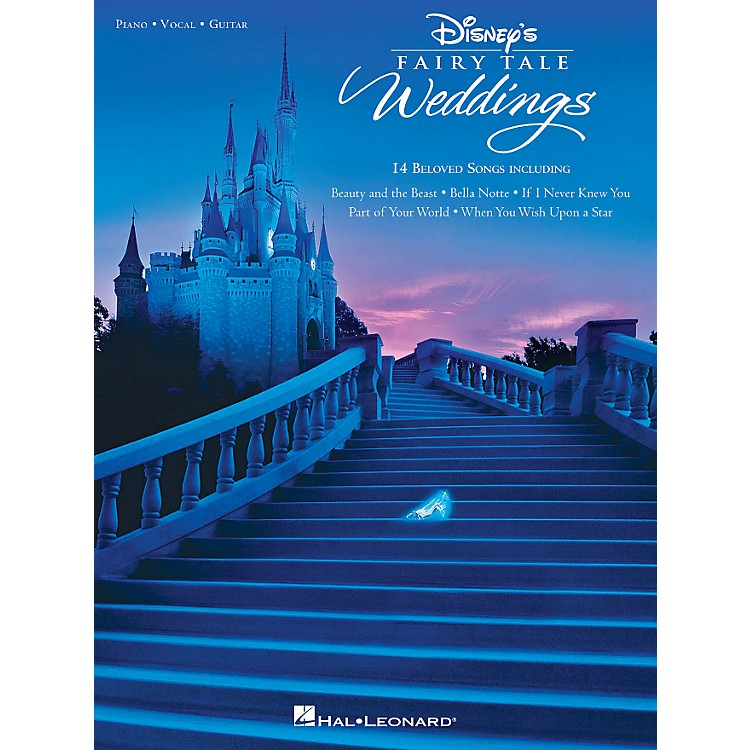 Hal Leonard Disney's Fairy Tale Weddings for Piano/Vocal/Guitar