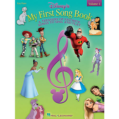 Hal Leonard Disney's My First Songbook - Volume 4 for Easy Piano-thumbnail