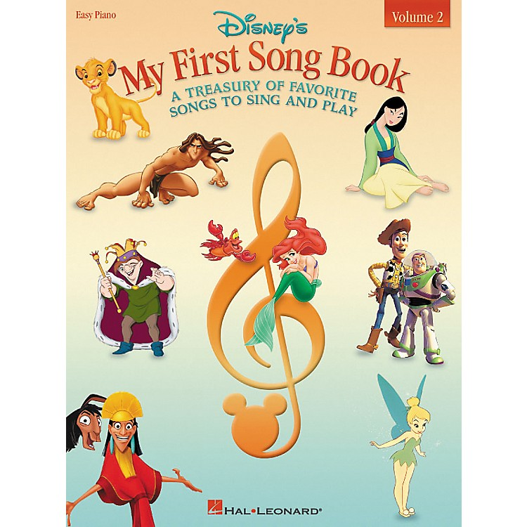 Hal LeonardDisney's My First Songbook Volume 2 For Easy Piano