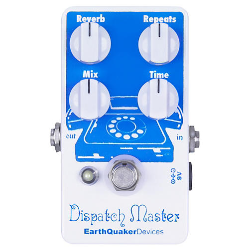 EarthQuaker Devices Dispatch Master Delay and Reverb Guitar Effects Pedal-thumbnail