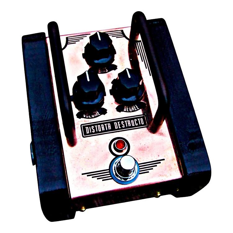 Copper GearDistorta Destructo -True Analog Silicon Fuzz Pedal with Bias Control