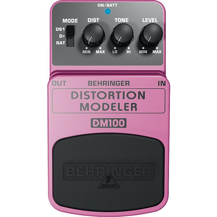 BehringerDistortion Modeler DM100 Guitar/Bass Effects Pedal