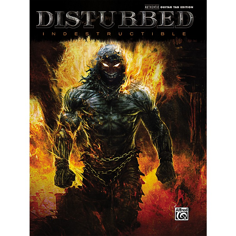Hal Leonard Disturbed Indestructible Guitar TAB