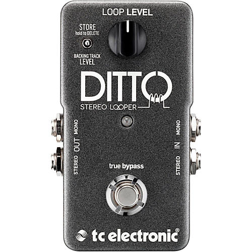 tc electronic ditto stereo looper guitar effects pedal musician 39 s friend. Black Bedroom Furniture Sets. Home Design Ideas