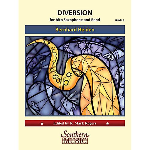 Southern Diversion Concert Band Level 4 Composed by Bernhard Heiden-thumbnail