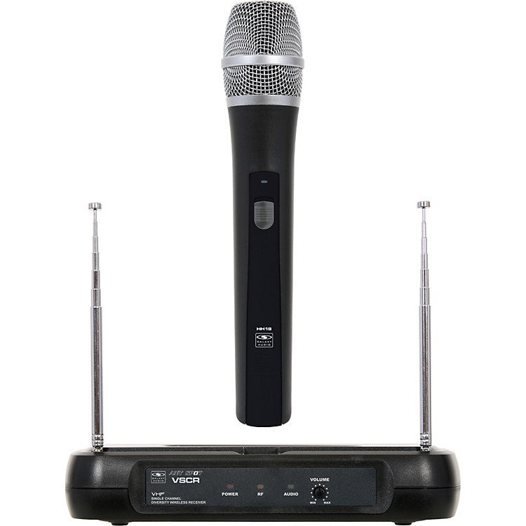 Galaxy Audio Diversity VHF Wireless Handheld Microphone System Freq Code V54