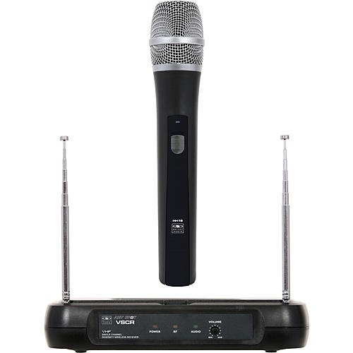 Galaxy Audio Diversity VHF Wireless Handheld Microphone System Freq Code V59