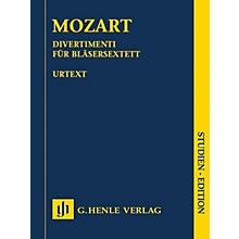 G. Henle Verlag Divertimenti for 2 Oboes, 2 Horns and 2 Bassoons Henle Study Scores by Mozart Edited by Felix Loy