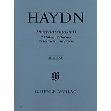 G. Henle Verlag Divertimento D Major Hob II:8 Henle Music Folios Series Softcover  by Joseph Haydn