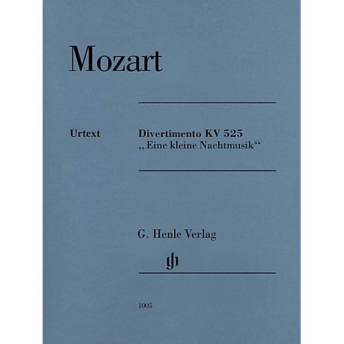 G. Henle Verlag Divertimento K525 Eine kleine Nachtmusik Henle Music by Mozart Edited by Wolf-Dieter Seiffert-thumbnail